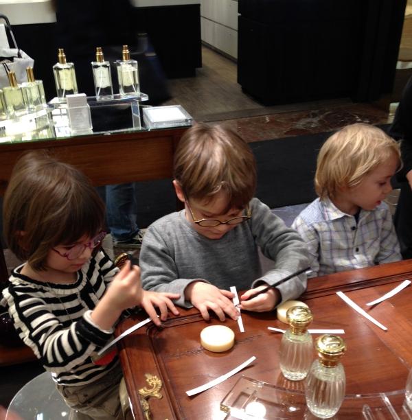 annick goutal,atelier découverte olfactive,printemps des enfants