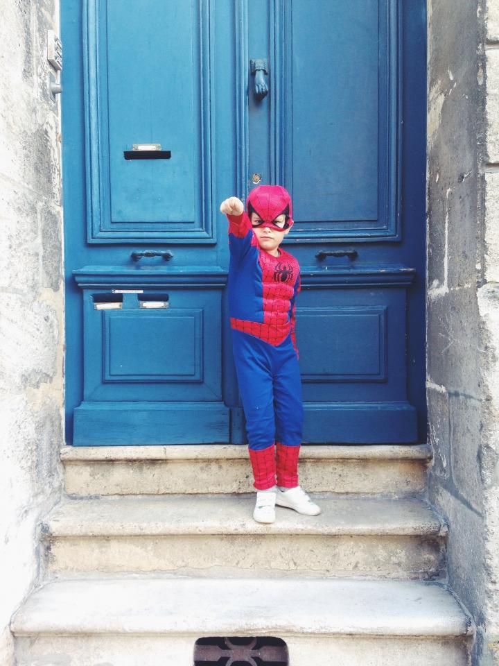 super héros; buzz l'éclair, spider man
