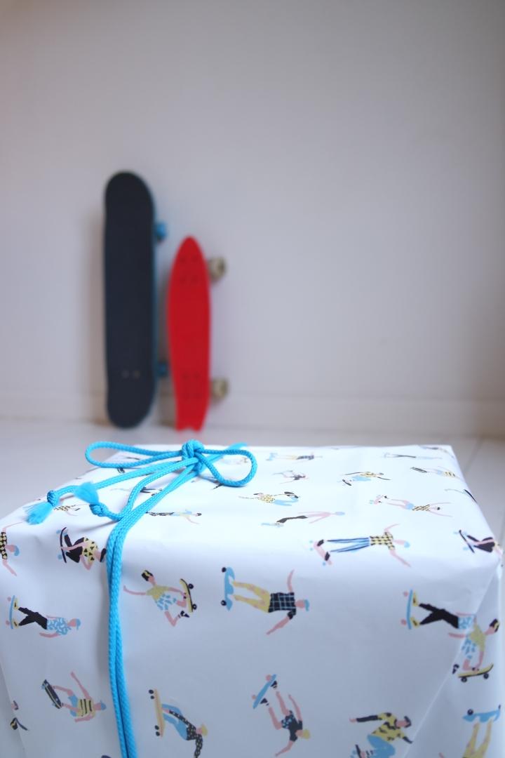 impression originale,papier cadeaux,emballer ses cadeaux